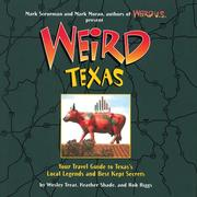 Cover of: Weird Texas (Weird) | Wesley Treat