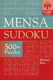Cover of: Mensa Sudoku