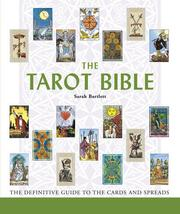Cover of: The Tarot Bible