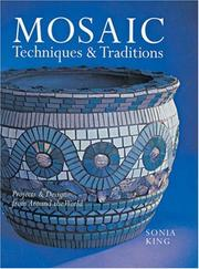 Cover of: Mosaic Techniques & Traditions