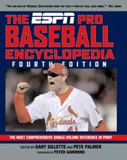 Cover of: The ESPN Baseball Encyclopedia, Fourth Edition (Espn Baseball Encyclopedia) |