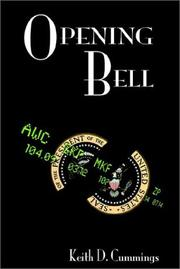 Cover of: Opening Bell | Keith D. Cummings