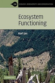 Cover of: Ecosystem Functioning