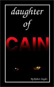 Cover of: Daughter of Cain | Robert Ziegler