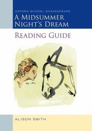 Cover of: Midsummer Nights Dream Reading Guide Oxford School Shakepeare