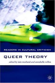 Cover of: Queer theory