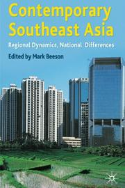 Cover of: Contemporary Southeast Asia