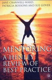 Cover of: Mentoring | Jane Cranwell-Ward