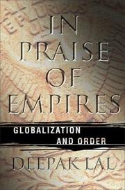 Cover of: In praise of empires