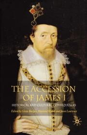 Cover of: The accession of James I