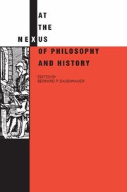 Cover of: At The Nexus Of Philosophy And History
