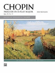 Cover of: Prelude in DFlat Major Op 28 No 15