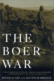 Cover of: The Boer War