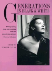 Cover of: Generations in Black and White