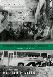 Cover of: Participatory democracy vs. elitist democracy