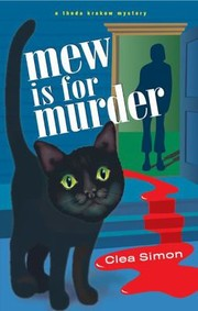 Cover of: Mew Is For Murder A Theda Krakow Mystery