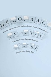 Cover of: Democracy In What State