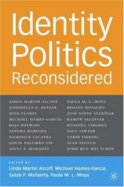 Cover of: Identity politics reconsidered by