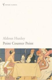 Cover of: Point Counter Point