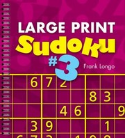 Cover of: Large Print Sudoku 3