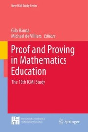 Cover of: Proof And Proving In Mathematics Education The 19th Icmi Study