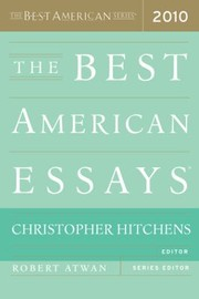 Cover of: The Best American Essays 2010