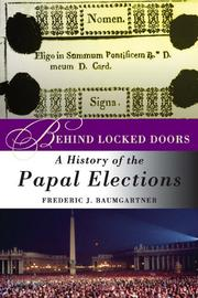 Cover of: Behind Locked Doors
