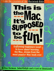 Cover of: This is the Mac. It