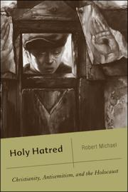 Cover of: Holy Hatred | Robert Michael