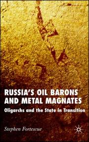 Cover of: Russia's Oil Barons and Metal Magnates