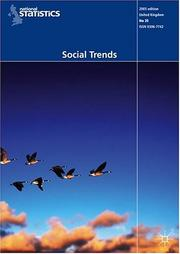 Cover of: Social Trends | Office for National Statistics
