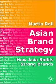 Cover of: Asian brand strategy | Martin Roll