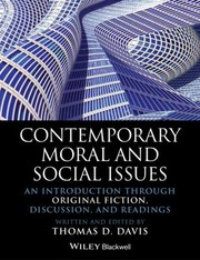 Cover of: Contemporary Moral And Social Issues An Introduction Through Original Fiction Discussion And Readings