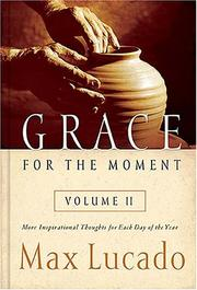 Cover of: Grace for the Moment Volume II