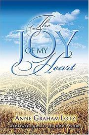 Cover of: The joy of my heart: meditating daily on God's word