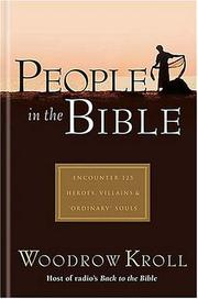 Cover of: People in the Bible | Woodrow Kroll