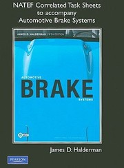 Cover of: Automotive Brake Systems Natef Correlated Task Sheets