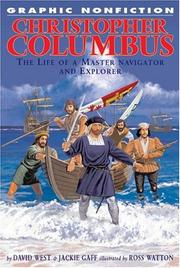 Cover of: Christopher Columbus | West, David
