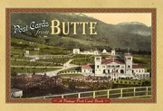 Cover of: Butte Vintage Postcard Book