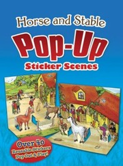 Cover of: Horse And Stable Popup Sticker Scenes