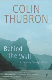 Cover of: Behind the Wall