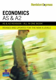 Cover of: As And A2 Economics