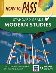 Cover of: How To Pass Standard Grade Modern Studies