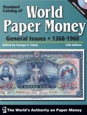 Cover of: Standard Catalog Of United States Paper Money |