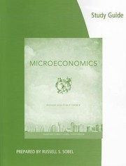 Cover of: Coursebook To Accompany Microeconomics Private And Public Choice