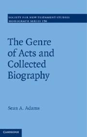 Cover of: The Genre Of Acts And Collected Biography