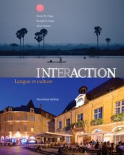 Cover of: Interaction Langue Et Culture