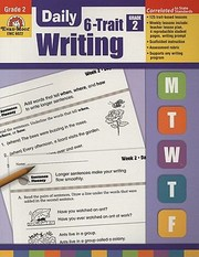 Cover of: Daily 6trait Writing Grade 2