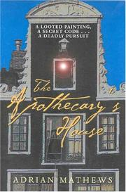 Cover of: The Apothecary's House