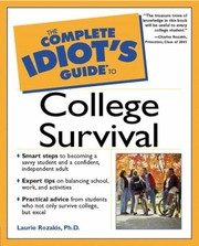 Cover of: The Complete Idiots Guide To College Survival